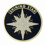 Custom Engraved Shining Star Emblems and Seals