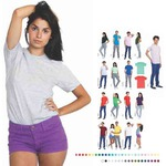 Custom Printed American Apparel T-Shirts For Women