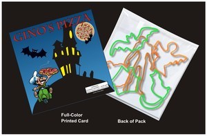 Custom Printed Halloween Stock Shaped Silly Bands