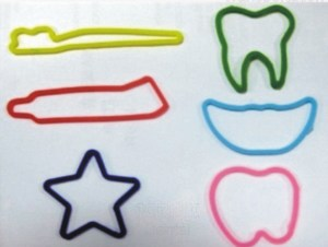Custom Printed Dental Stock Shaped Silly Bands