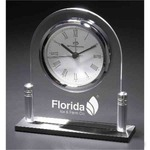 Custom Imprinted Silver Clocks