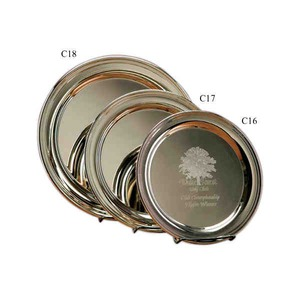 Custom Printed Silver Plated Trays