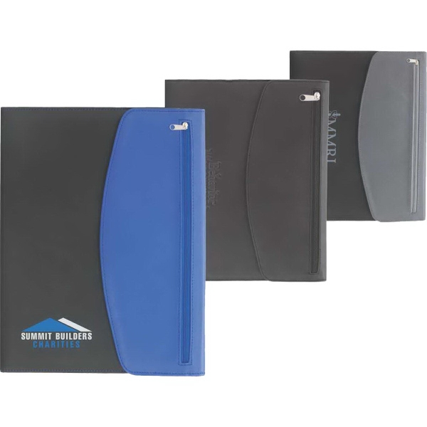Custom Printed Canadian Manufactured Zippered Portfolios