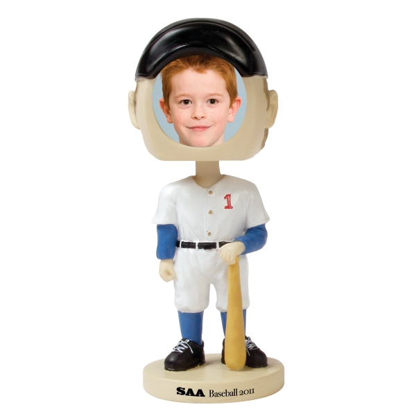 Custom Printed Baseball Player Bobble Head Picture Frames