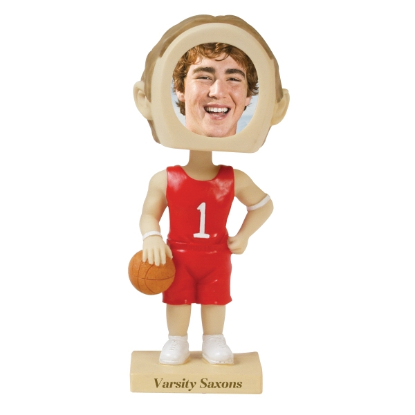 Custom Printed Basketball Bobble Head Picture Frames