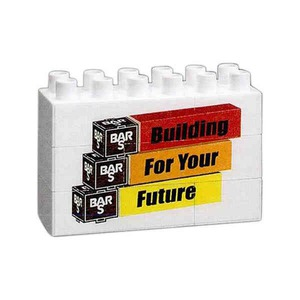 Custom Printed Six Block Wide Size Full Color Promo Block Sets