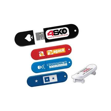 Skateboard Shaped USB Drives, Custom Imprinted With Your Logo!