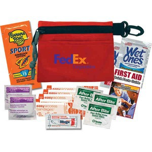 Custom Imprinted Skiing Sport First Aid Kits