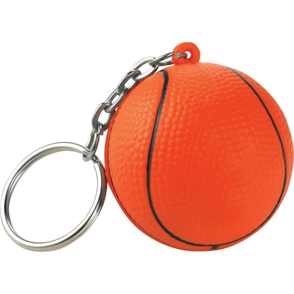 Basketball Sport Themed Keychains, Custom Imprinted With Your Logo!