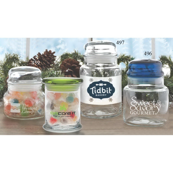Custom Printed 3 Day Service Jelly Bean Jars