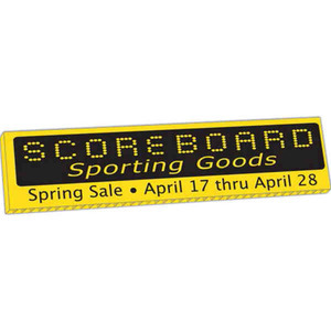 Custom Printed Small Corrugated Plastic Yard Signs