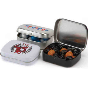 Small Rectangular Private Label Mint Tins, Custom Imprinted With Your Logo!