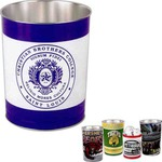 Custom Imprinted Small Tin Trash Cans