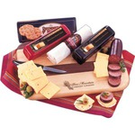 Custom Printed Perishable Package Cheese and Sausage Food Gifts