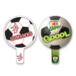 Custom Imprinted Soccer Ball Fans