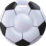Custom Imprinted Soccer Ball Inflatable Cushions