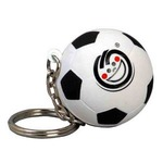 Custom Imprinted Soccer Ball Key Chains