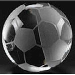 Custom Imprinted Soccer Ball Paper Weights