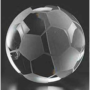 Custom Printed Soccer Ball Paper Weights