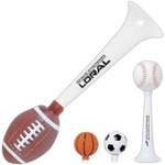 Customized Soccer Ball Shaped Sports Horns