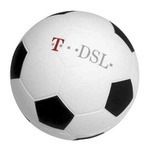 Custom Imprinted Soccer Ball Stress Relievers