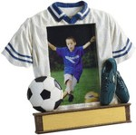Personalized Soccer Resin Picture Frames