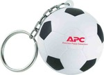 Custom Imprinted Soccer Sport Themed Keychains
