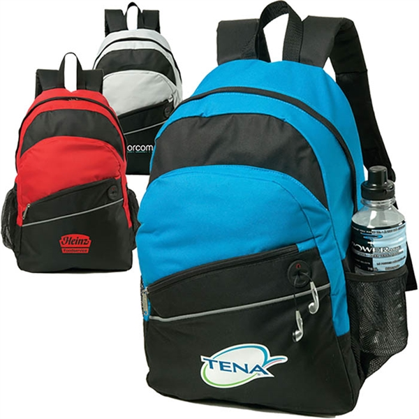 Custom Printed Canadian Manufactured Solara Backpacks