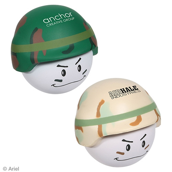 Solider Stress Relievers, Custom Imprinted With Your Logo!