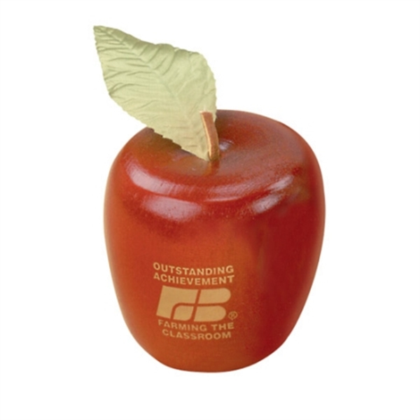 Apple Shaped Trophies, Customized With Your Logo!