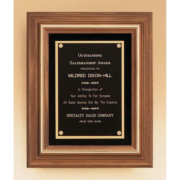 Custom Engraved Airflyte Wood Plaques Engraved