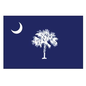 Custom Printed South Carolina State Flags
