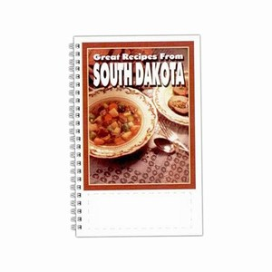Custom Printed South Dakota State Cookbooks