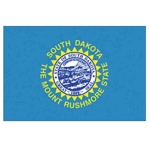 Custom Printed South Dakota State Flags