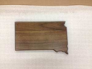 Custom Printed South Dakota State Shaped Plaques
