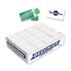 Custom Printed Spearmint Beechies Brand Gums