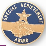 Custom Engraved Special Achievement Award Emblems and Seals