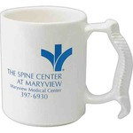 Custom Decorated Spinal Bone Handle Shaped Mugs