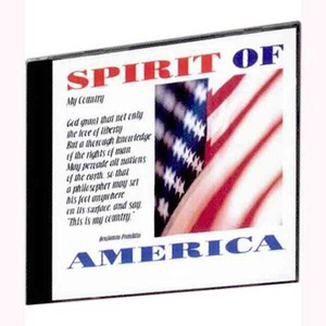 Custom Printed Spirit of America Patriotic Music CDs