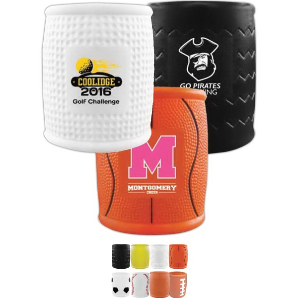 Football Helmet Shaped Can Coolers, Custom Imprinted With Your Logo!
