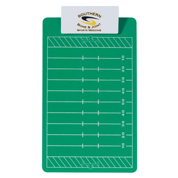 Custom Printed Clipboards Football Design