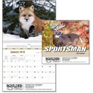 Custom Printed Sportsman Appointment Calendars