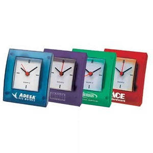 Custom Imprinted Square Shaped Clocks