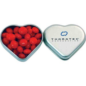 Heart Tins, Personalized With Your Logo!