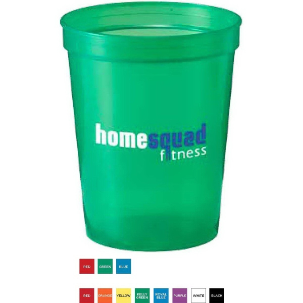 16oz. Stadium Cups For Under A Dollar, Custom Imprinted With Your Logo!