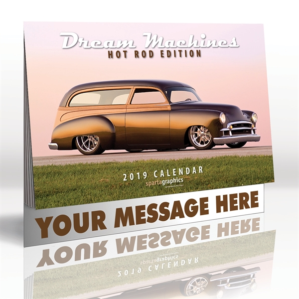 Custom Printed Antique Cars Appointment Calendars