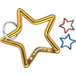 Custom Decorated Star Shaped Carabiners