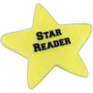 Custom Printed Star Shaped Erasers
