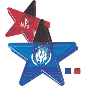 Custom Imprinted Star Shaped Magnetic Clips