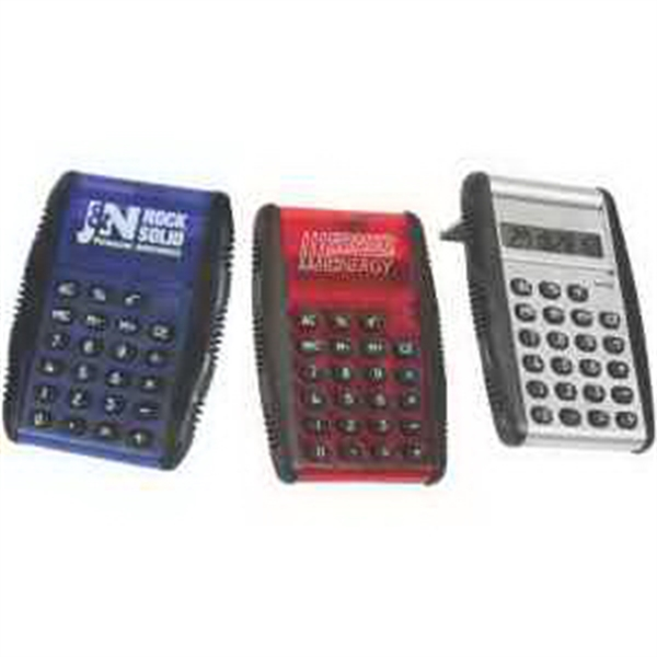 Custom Printed 3 Day Service Flip Open Calculators
